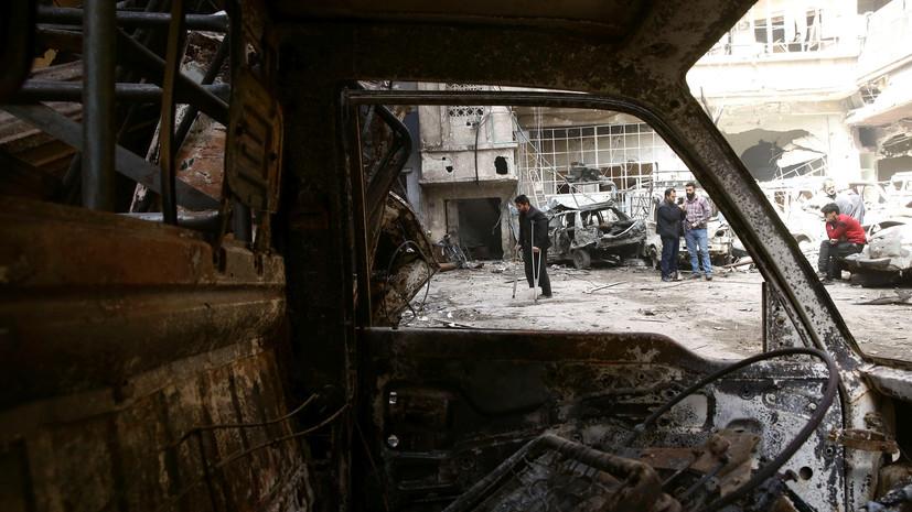 В МИД заявили, что доступу экспертов ОЗХО в сирийскую Думу мешают террористы