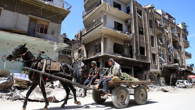 Командующий ССА рассказал о ситуации в сирийском городе Дмер