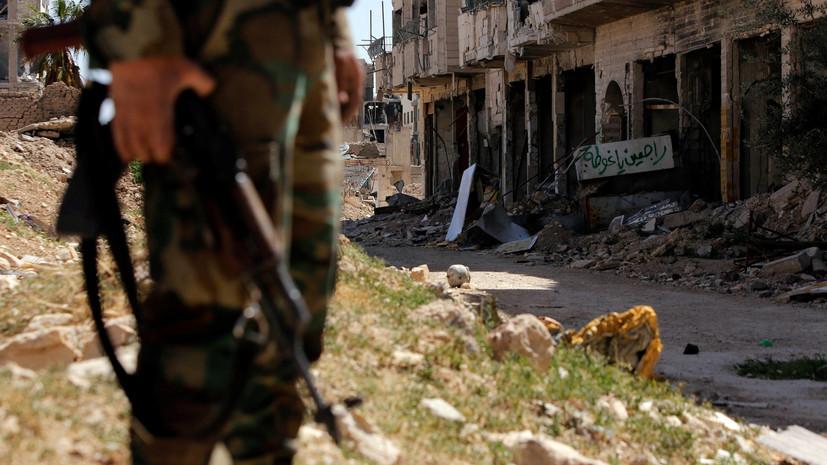Сирийские военные отыскали вВосточной Гуте дымовые шашки изСолсбери— МИД