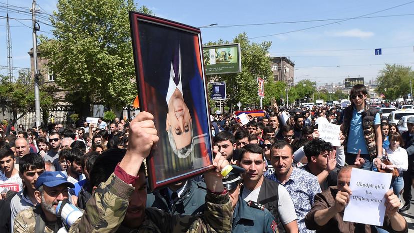 Полиция Армении задержала 26 участников акции в Ереване