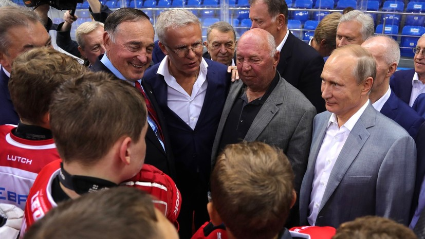 Путин поздравил с юбилеем двукратного олимпийского чемпиона Фетисова