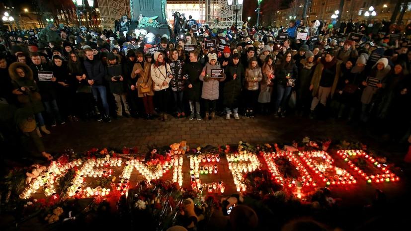 СК: при пожаре в ТЦ Кемерова погибли 60 человек