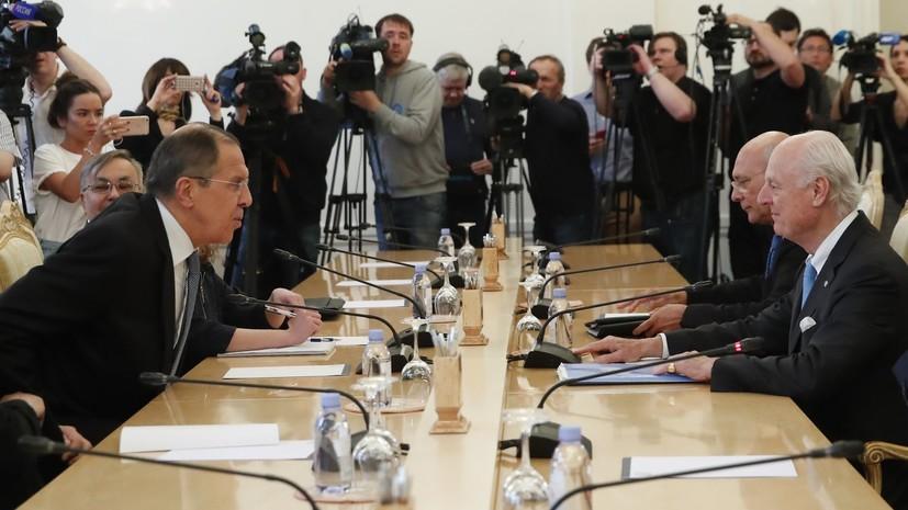 Лавров: Россия и ООН едины в том, что военного решения в Сирии нет
