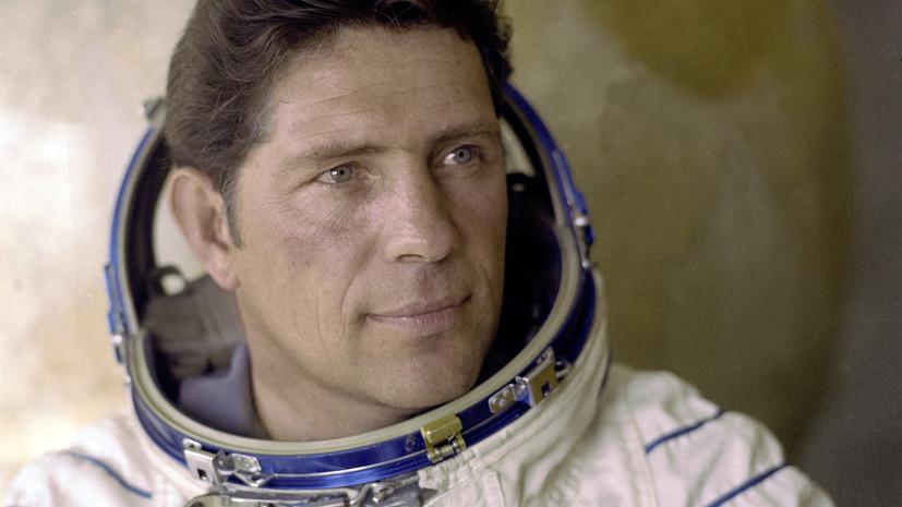 На 77-м году жизни скончался советский космонавт Владимир Ляхов