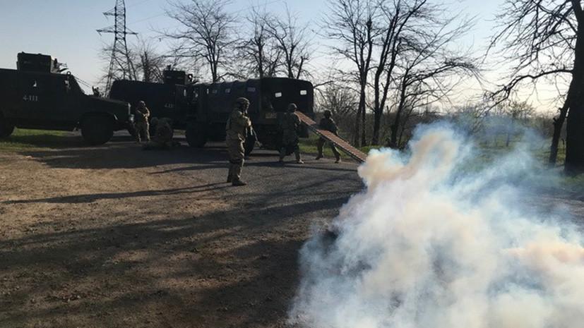 СБУ провела антитеррористические учения в Одесской области