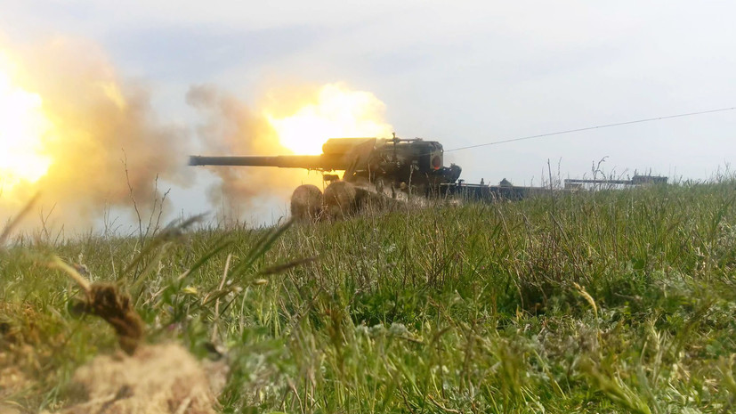 ВМС Украины провели учения вблизи границы с Крымом
