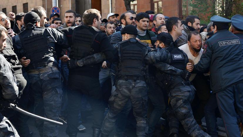 СНБ Армении сообщила о предотвращении терактов в стране