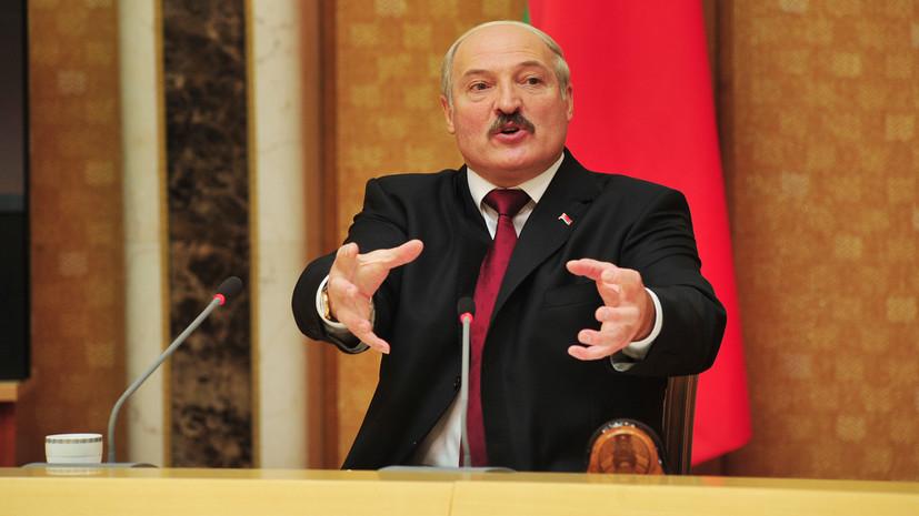 Лукашенко призвал белорусов «переходить на вина»