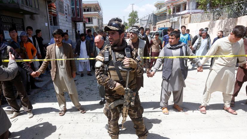 При взрыве в Кабуле погибли шесть человек