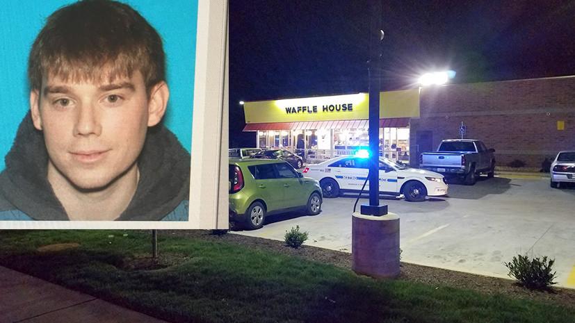 В США в результате стрельбы в кафе погибли три человека