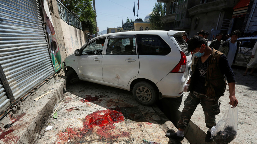 Число погибших при взрыве в Кабуле увеличилось до 48