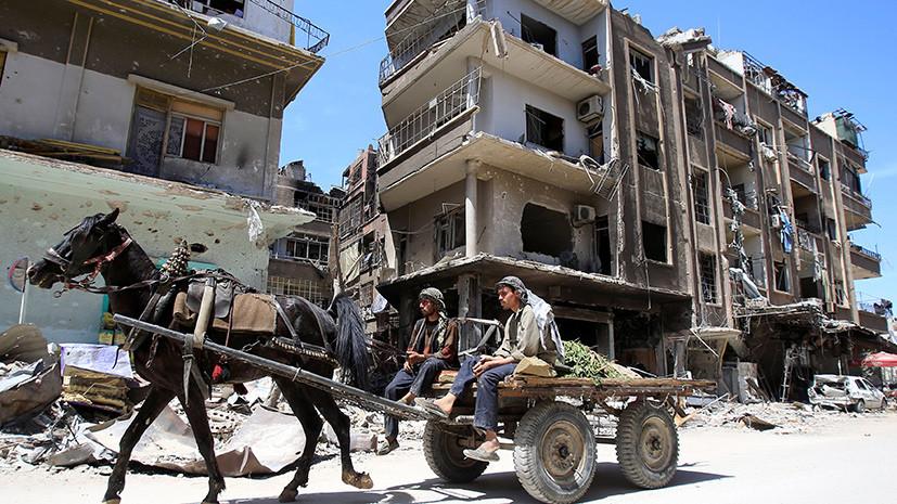 Политолог рассказал, почему Макрон заявил о необходимости США и союзников остаться в Сирии