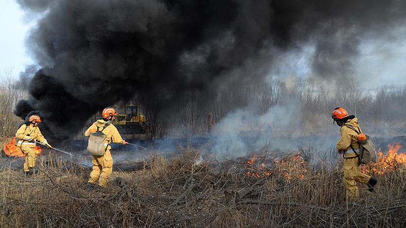 Водном израйонов Хабаровского края введен особый противопожарный режим
