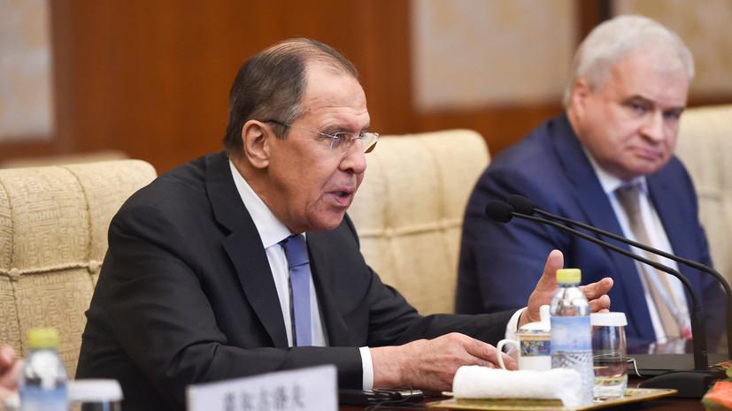 Лавров назвал целью удара США по Сирии срыв расследования экспертов ОЗХО