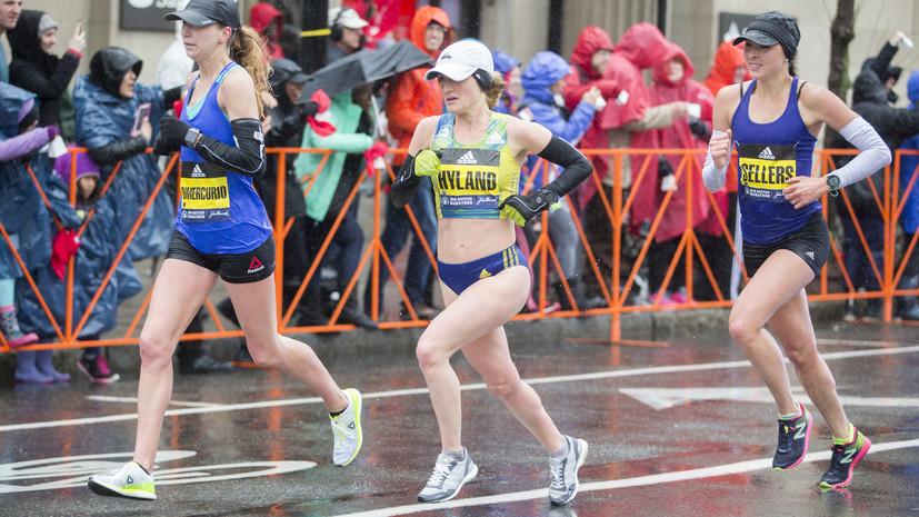 «Трудно было поверить, что я кого-то опередила»: медсестра из США стала второй на Бостонском марафоне