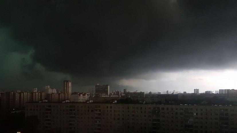Климатолог РАН не исключил торнадо летом в Москве