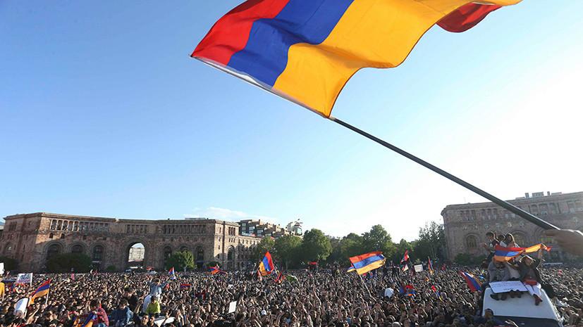 В Кремле надеются на достижение политического консенсуса в Армении