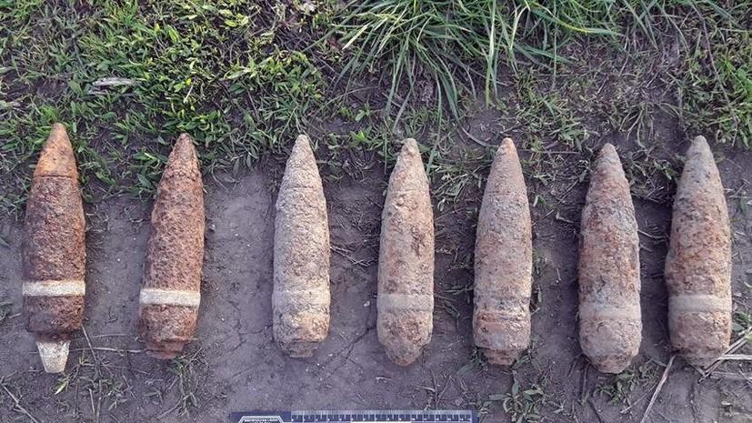 На Украине мужчина продавал семь боевых снарядов по цене шести