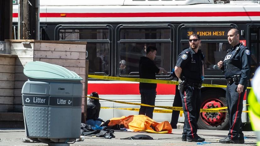 Совершившему наезд на пешеходов в Торонто предъявлены обвинения в убийстве