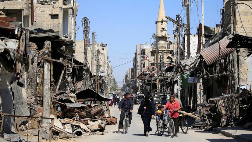 СМИ: При обстреле квартала на юге Дамаска погибли пять человек