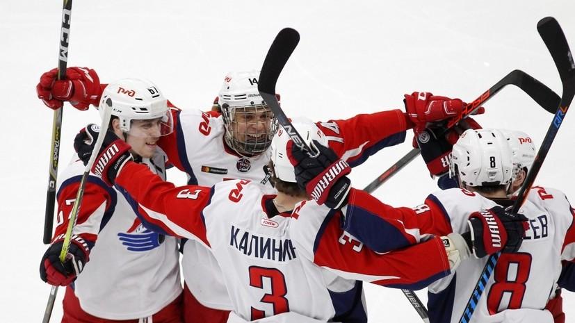 Ярославский «Локо» второй раз в истории клуба стал чемпионом Молодёжной хоккейной лиги