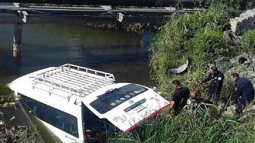 Три человека погибли в результате ДТП с участием автобуса в Египте