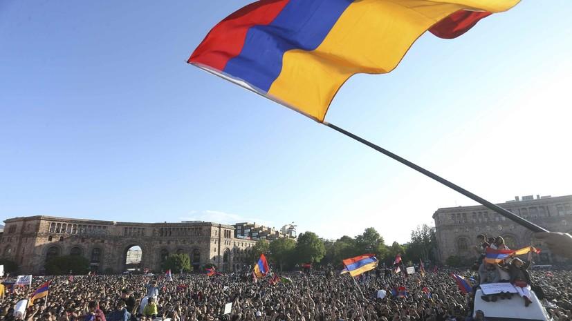 И.о. премьера Армении предложил провести внеочередные парламентские выборы