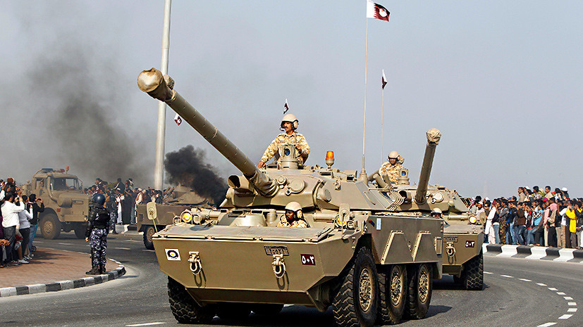 «Грубейшее нарушение Устава ООН»: зачем Саудовская Аравия призывает Катар направить войска в Сирию