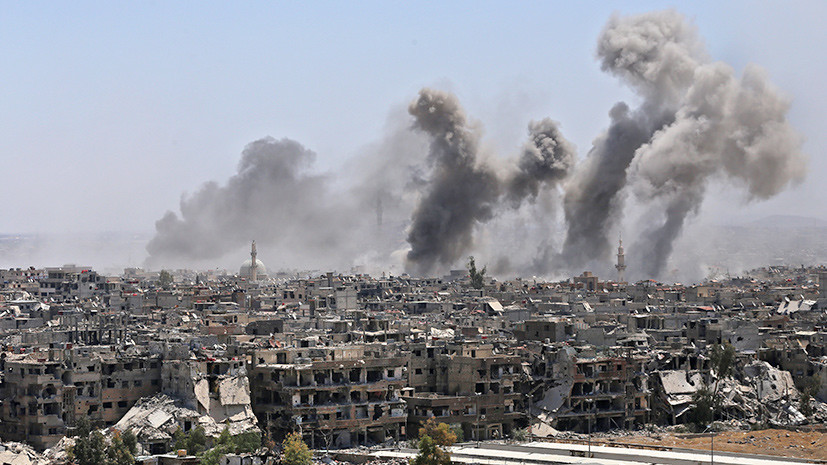 Генштаб: только 22 из заявленных США и союзниками 105 ракет поразили объекты в Сирии