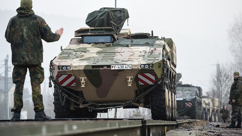 Транспортная несовместимость: в США назвали железные дороги Прибалтики препятствием для переброски войск НАТО