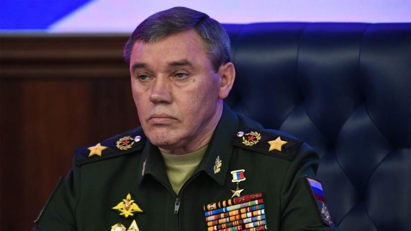 Глава Генштаба ВС провёл встречу с командующим Сухопутными войсками Пакистана