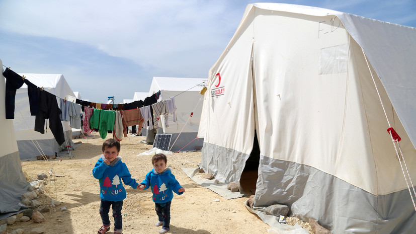 Британия выделит $620 млн на помощь для сирийских беженцев