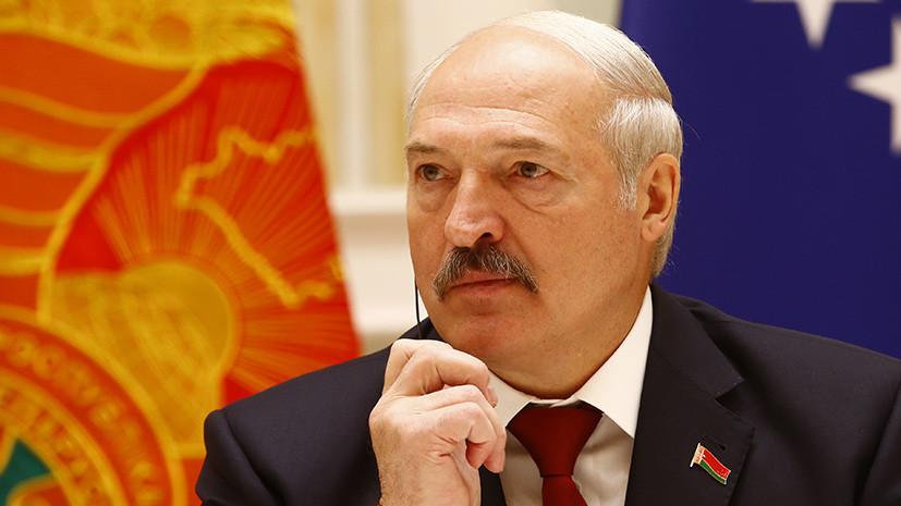 Лукашенко и Саркисян обсудили ситуацию в Армении