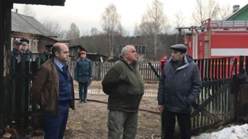 При пожаре в Костромской области погибли трое детей и взрослый