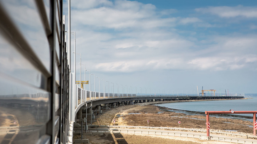 Автодорожная часть Крымского моста прошла испытания на готовность к эксплуатации