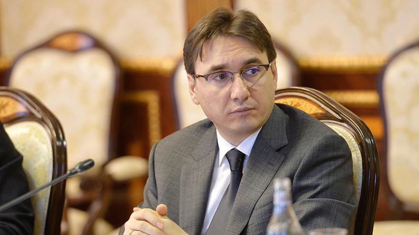Врио первого вице-премьера Армении отправился в Москву