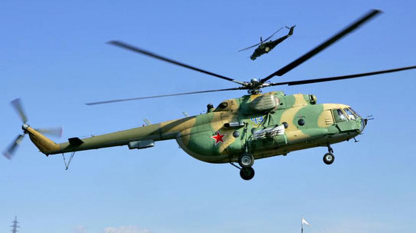 ВАлтайском крае совершил аварийную посадку неисправный вертолет спассажирами наборту