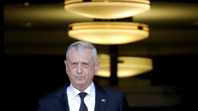 Глава Пентагона заявил о планах США расширить борьбу с ИГ в Сирии