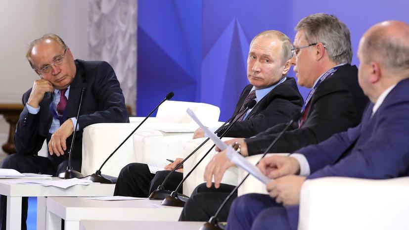 Путин заявил о необходимости технологического прорыва в области вооружений