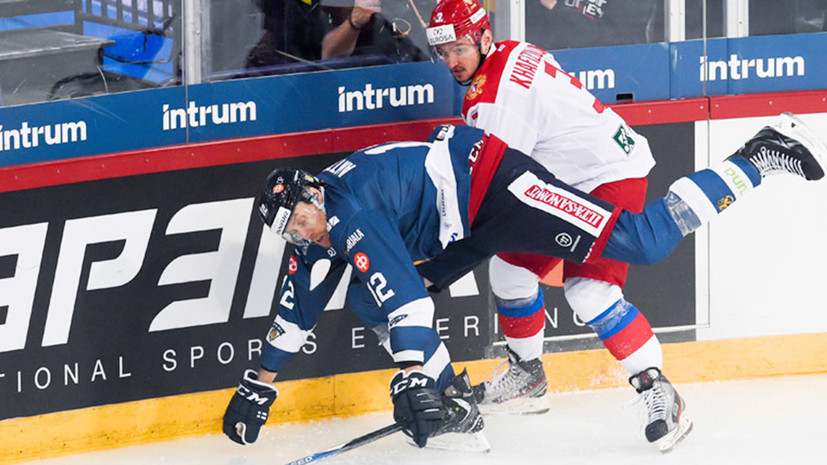 Сборная России по хоккею проиграла четвёртый матч подряд под руководством Воробьёва