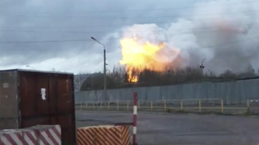 В здании балашихинского завода в Подмосковье произошёл пожар