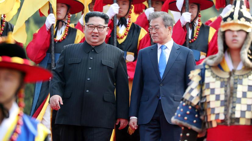 Главы КНДР и Южной Кореи обсудили вопрос денуклеаризации