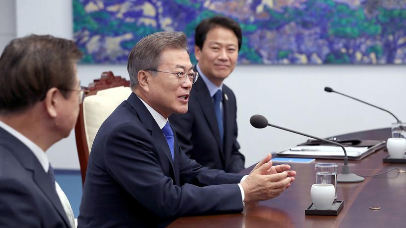 Мун Чжэ Ин предложил соединить железные дороги Южной Кореи и КНДР