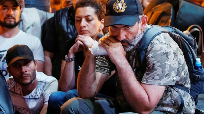 Врио премьера Армении отказался от переговоров с лидером оппозиции