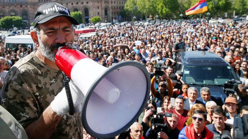 Оппозиция начала автопробег изЕревана вГюмри