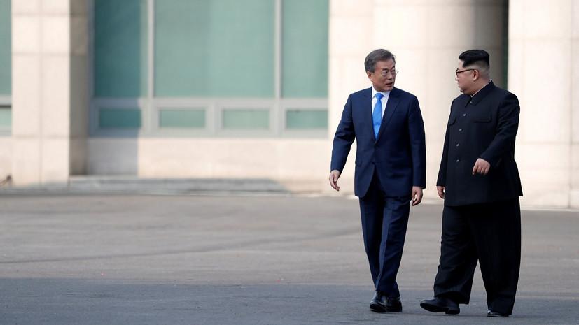 В ООН назвали исторической встречу лидеров Южной Кореи и КНДР