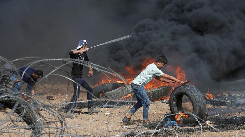 Израильские военные убили 3-х палестинцев награнице сектора Газа