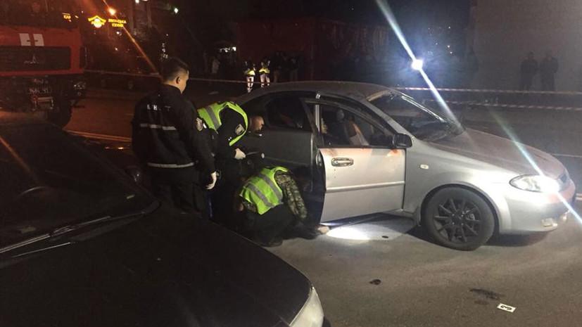 Полиция завела дело после взрыва автомобиля в Киеве