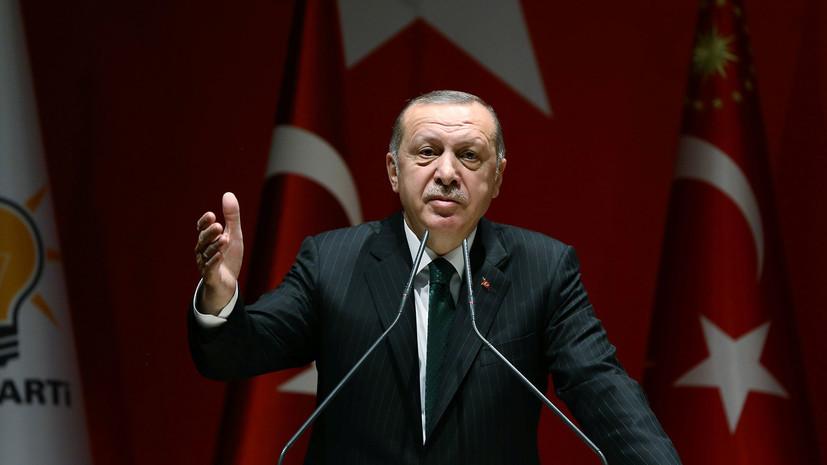 Эрдоган приветствовал встречу лидеров КНДР и Южной Кореи