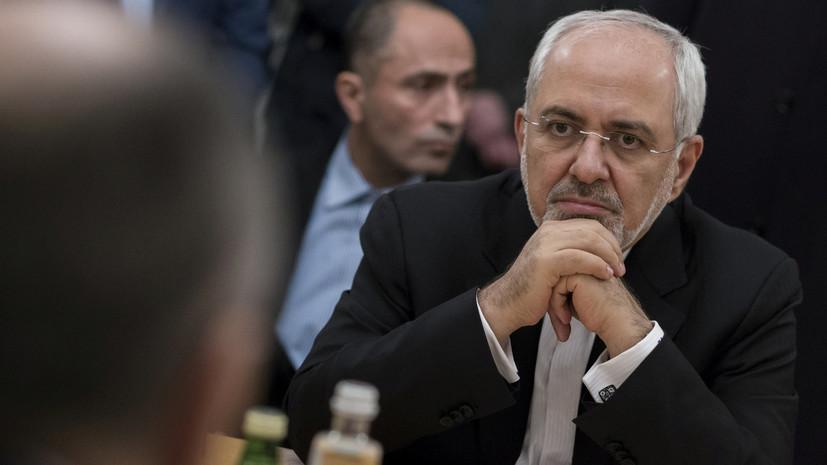 Глава МИД Ирана назвал деструктивной роль США в Сирии